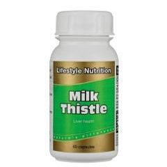 Lifestyle Nutrition Nutrition Milk Thistle 60 Capsules