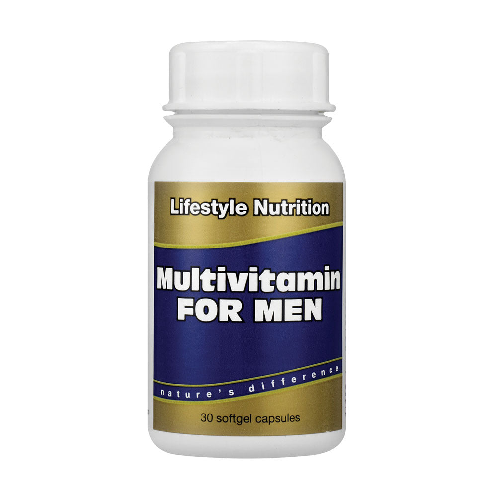 Lifestyle Nutrition Multi-vitamin Men 30 Capsules