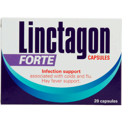 Linctagon Forte Infection Support 20 Capsules