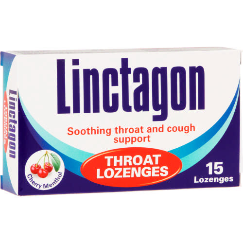 Throat Lozenges Lemon 15 Lozenges