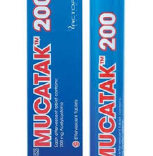 MUCATAK 200mg Effervescent Tablets 25s