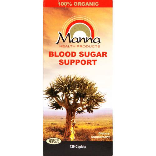 Manna Blood Sugar Support 120 Capsules