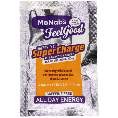 McNabs SuperCharge Energy Tablets 30 Sachets