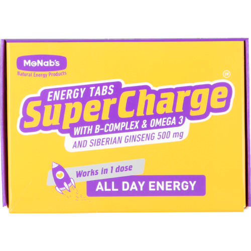 McNabs SuperCharge Energy Tablets 5 Sachets