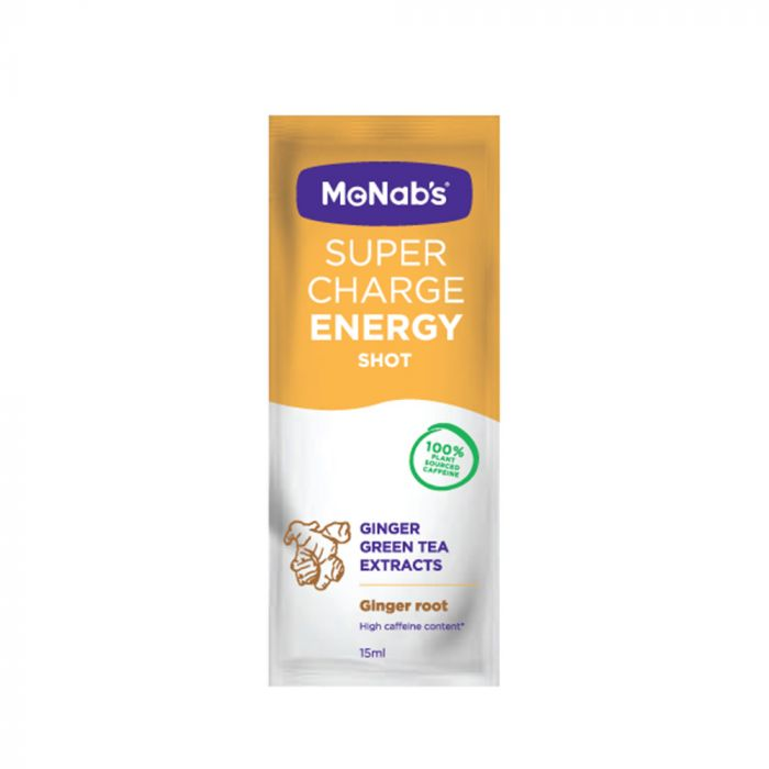 McNabs SuperCharge Natural Liq 15g Ginger