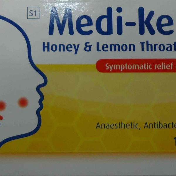 Medi-Keel A Honey And Lemon Throat Lozenges 16s