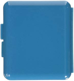 Medic Pill Box Square With Mirror Blue