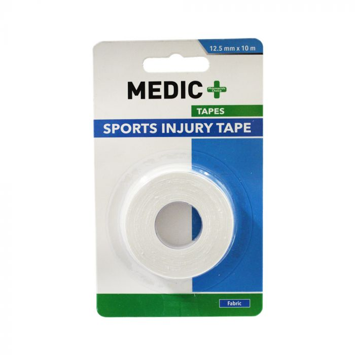 Medic Sports Injury Tape Cotton 1.25cmx10m