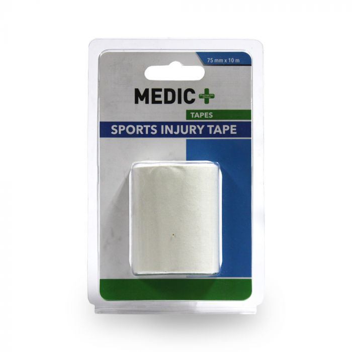 Medic Sports Injury Tape Cotton 7.5cmx10m