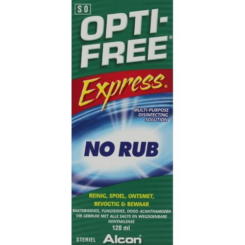 Opti-free Express Multi-purpose Disinfecting Solution 120ml