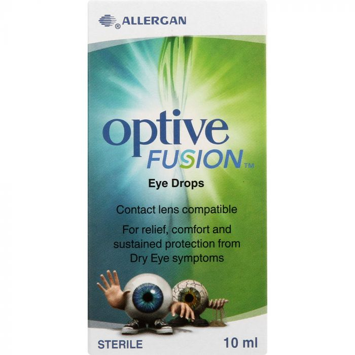 Optive Fusion Eye Drops 10ml