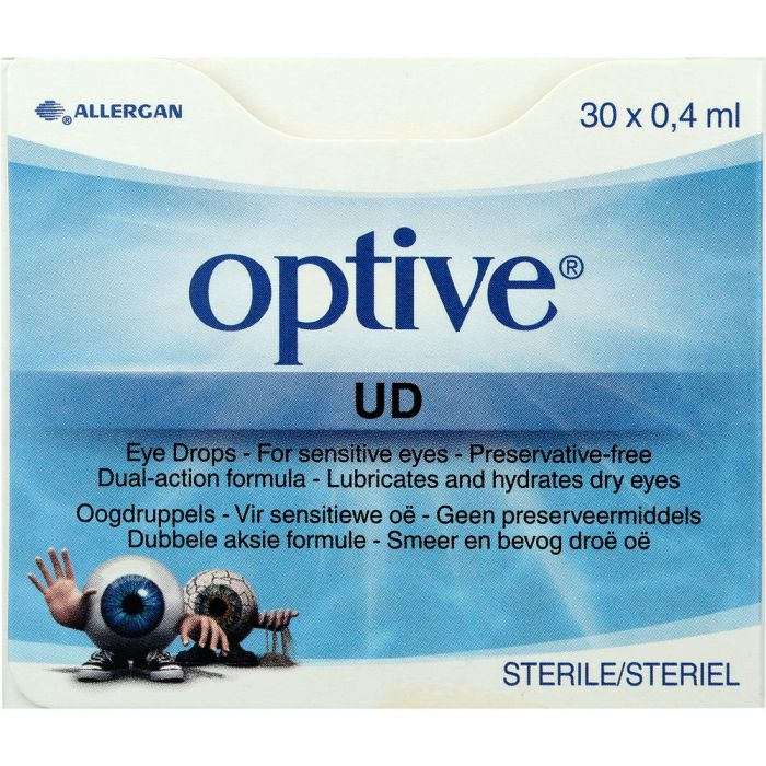 Optive Udv Eye Drops 30x0.4ml