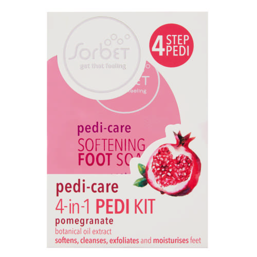 Pedi-Care Absorbent Foot Powder Pomegranate 100g