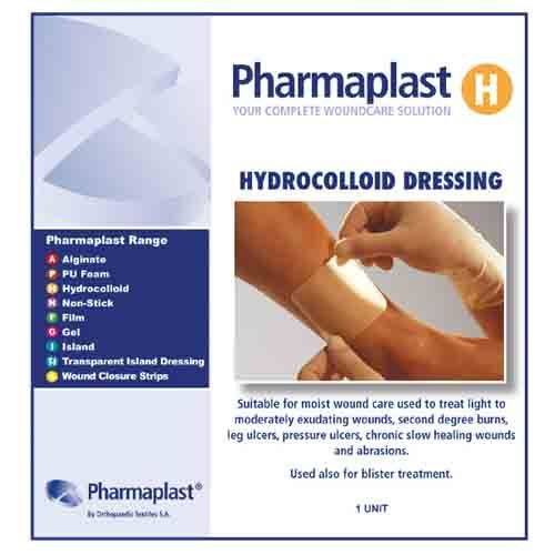 Pharmaplast Hydrocolloid Dress 10x10cm
