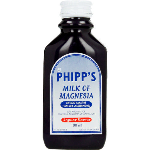 Phipps Milk Of Magnesia 100ml
