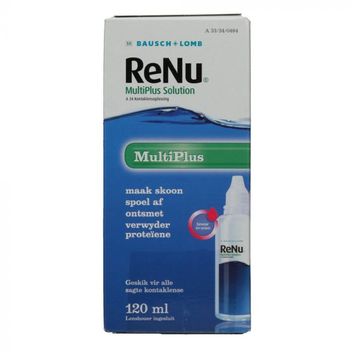 Renu Multiplus Travel Pack 120ml