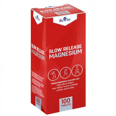 Revite Magnesium Slow Release 100 Tablets