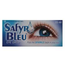 Safyr Bleu Eye Drops 15ml