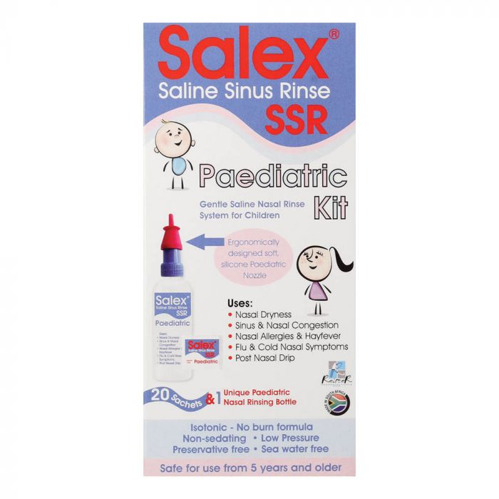 Salex Ssr Paediatric Kit