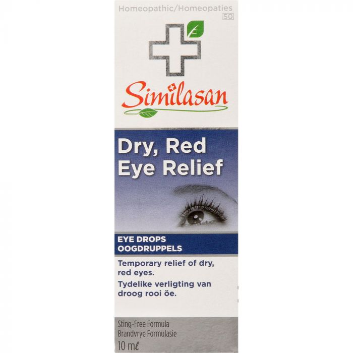 Similasan Dry Red Eye Relief Drops 10ml