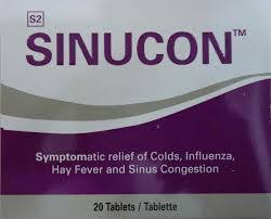 Sinucon Tablets 20s