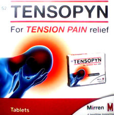 Tensopyn Tablets with Codeine 40s