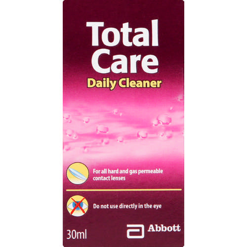 Total Care Daily Contact Lens Cleaner 30ml