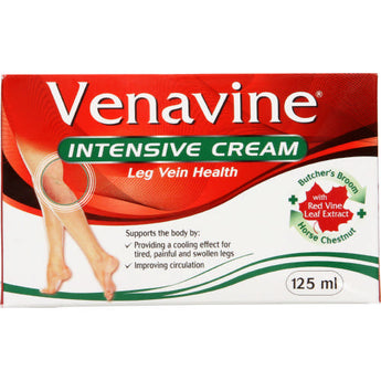Venavine Intensive Cream Leg Vein Health 125ml