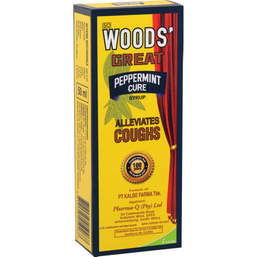 Woods Peppermint Cure Syrup 50ml