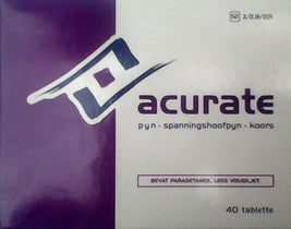 Acurate Headache Tablets 20s