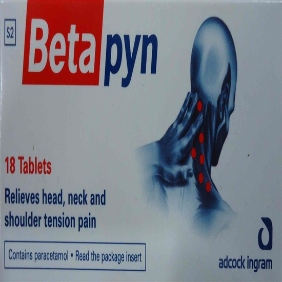 Betapyn Headache Tablets 18s