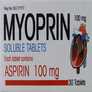 Myoprin 100 mg Tablets 30s