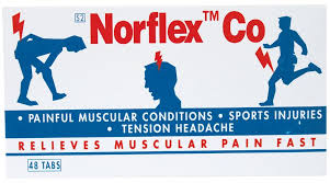 Norflex Co 48 Tablets
