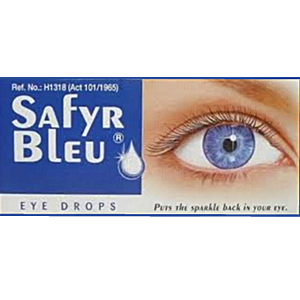 Safyr Bleu Eye Drops 5ml