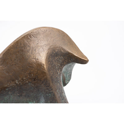 AA1 'Taurus' limited edition sculpture by Andrew Allanson, available at Padstow Gallery, Cornwall