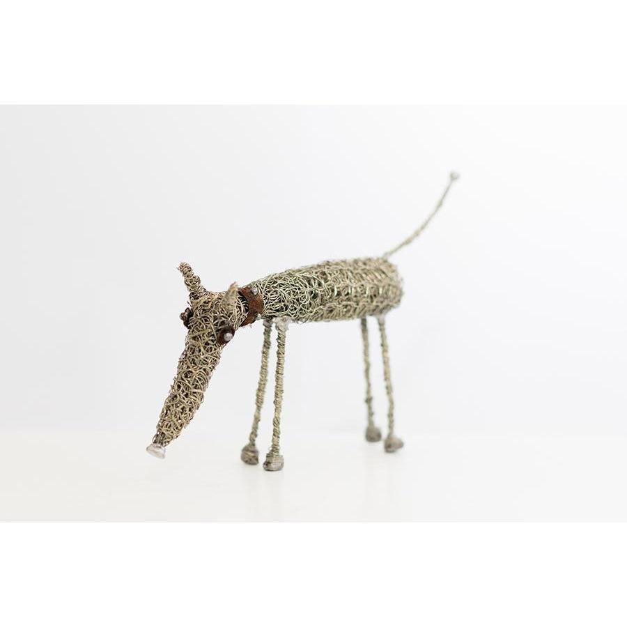 Standing dog by Sarah Jane Brown, available at Padstow Gallery, Cornwall