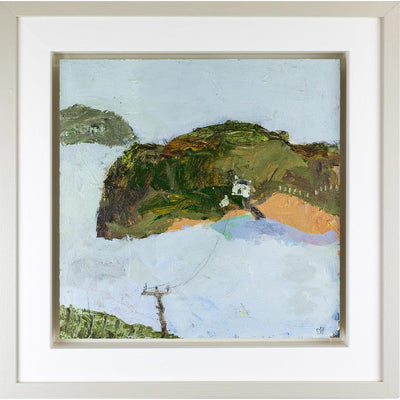 'New Polzeath' mixed media original by David Pearce, available at Padstow Gallery, Cornwall