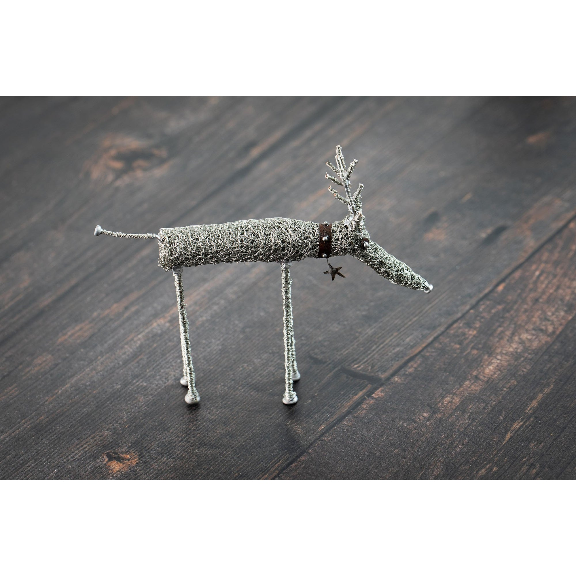 Reindeer by Sarah Jane Brown available at Padstow Gallery, Cornwall