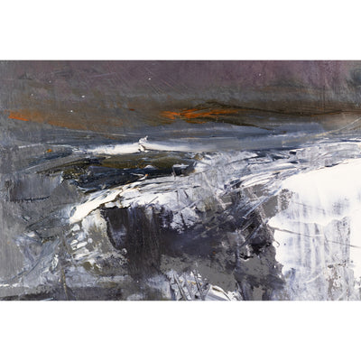 'Colour Storm Skies' oil original by Ian Rawnsley, available at Padstow Gallery, Cornwall