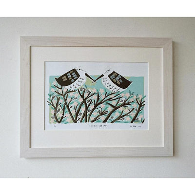 Then there were two by Liz Toole - showing framed example, product sold unframed