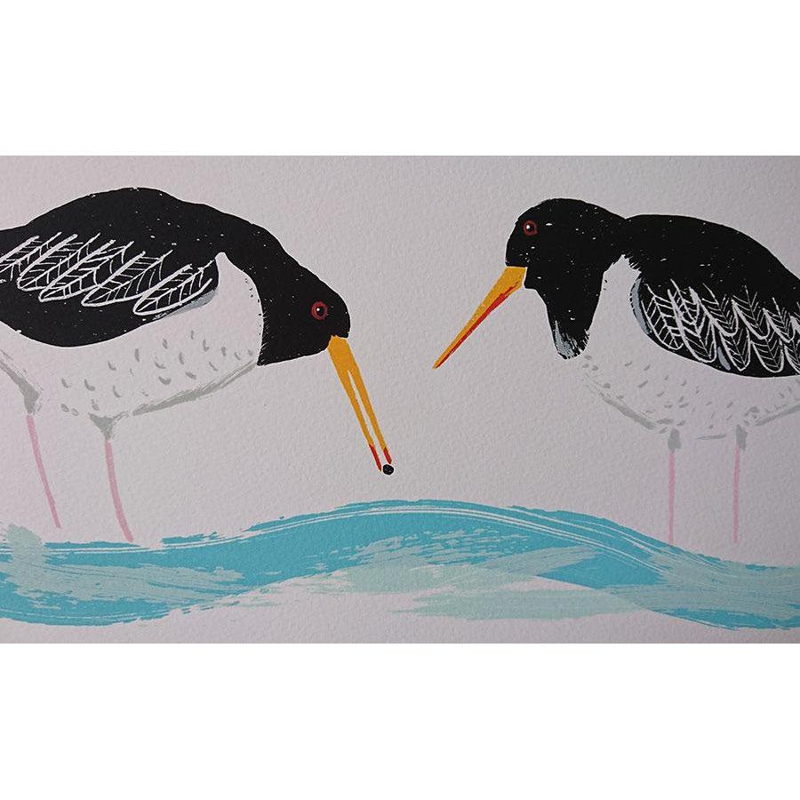 The oystercatcher and the clam by Liz Toole