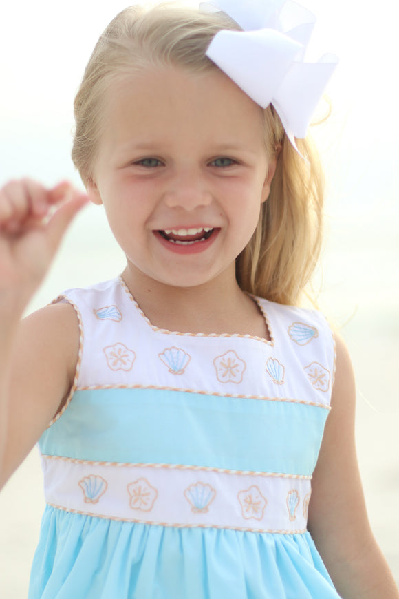 Christian Elizabeth Seaside Shell Dress