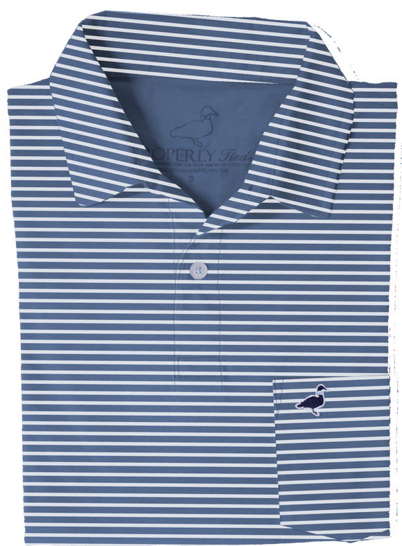 Properly Tied Pocket Polo - Navy