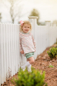 The Oaks - Ruth Ann Floral Smock Set