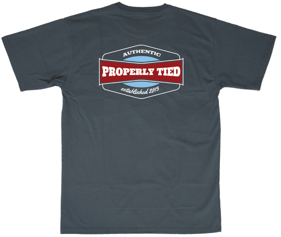 Properly Tied Vintage Logo - Navy