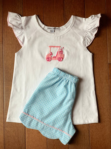 Sweet Dreams Girls Golf Cart Short Set