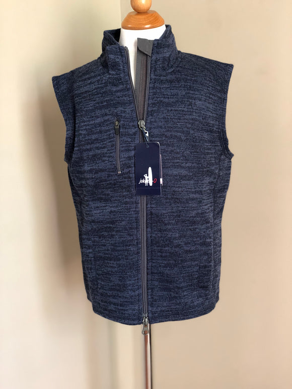 Johnnie-O Full Zip Vest - Admiral