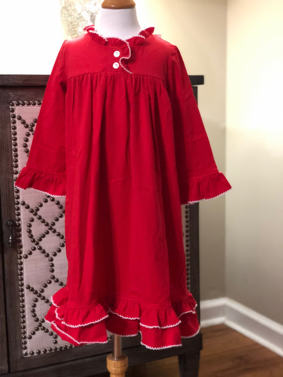 True Red Gown