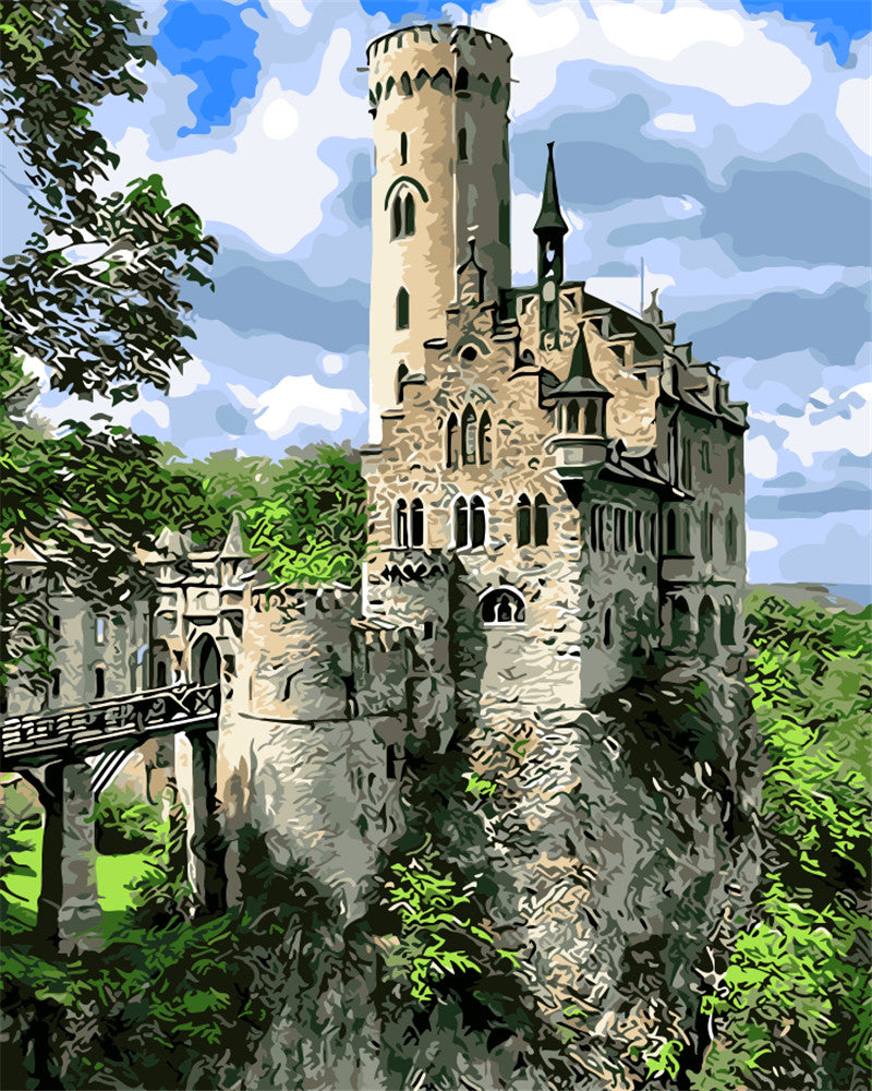 DIY Painting By Numbers - Secret Castle (16
