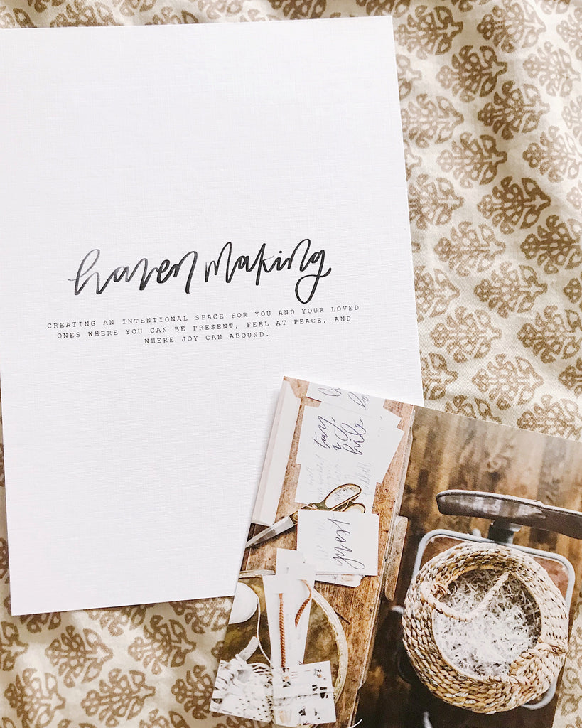 'Haven Making' Printable